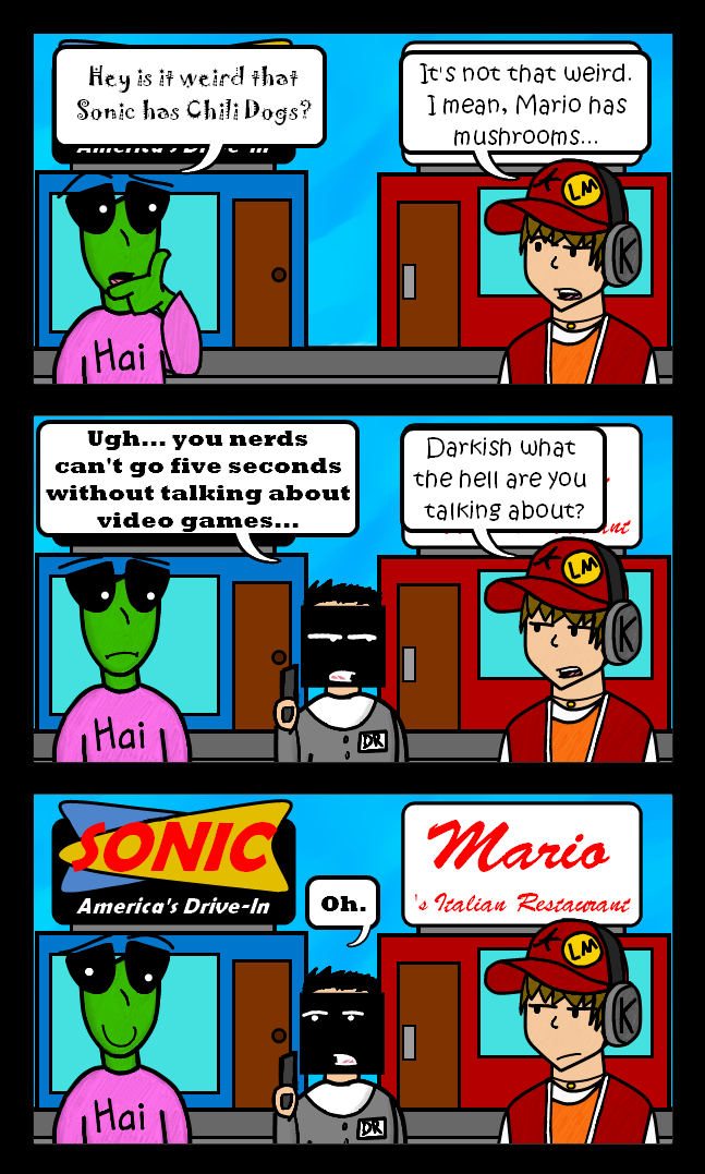 Videogame Comics!